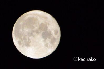 2021中秋の名月、満月